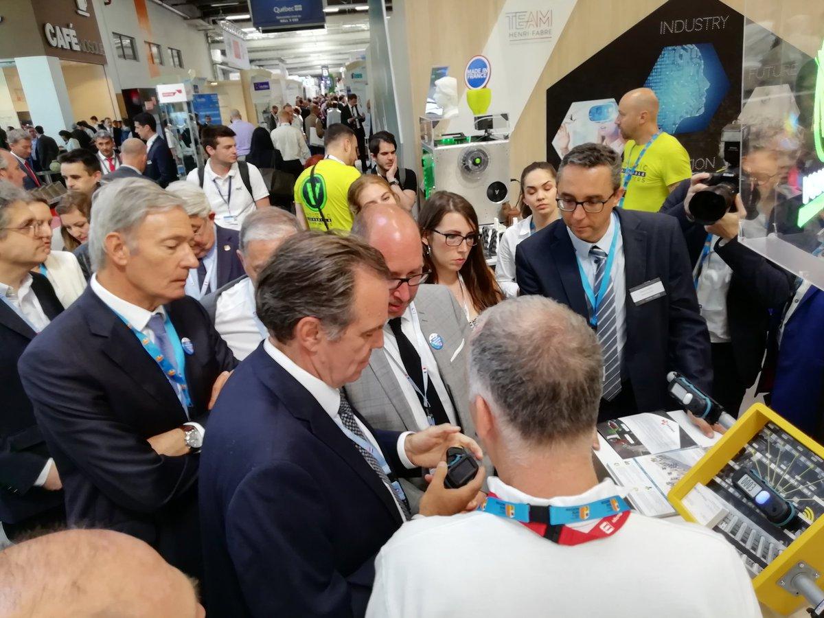 Team Henri-Fabre et ses «pépites» ont fait impression au 53e Salon du Bourget