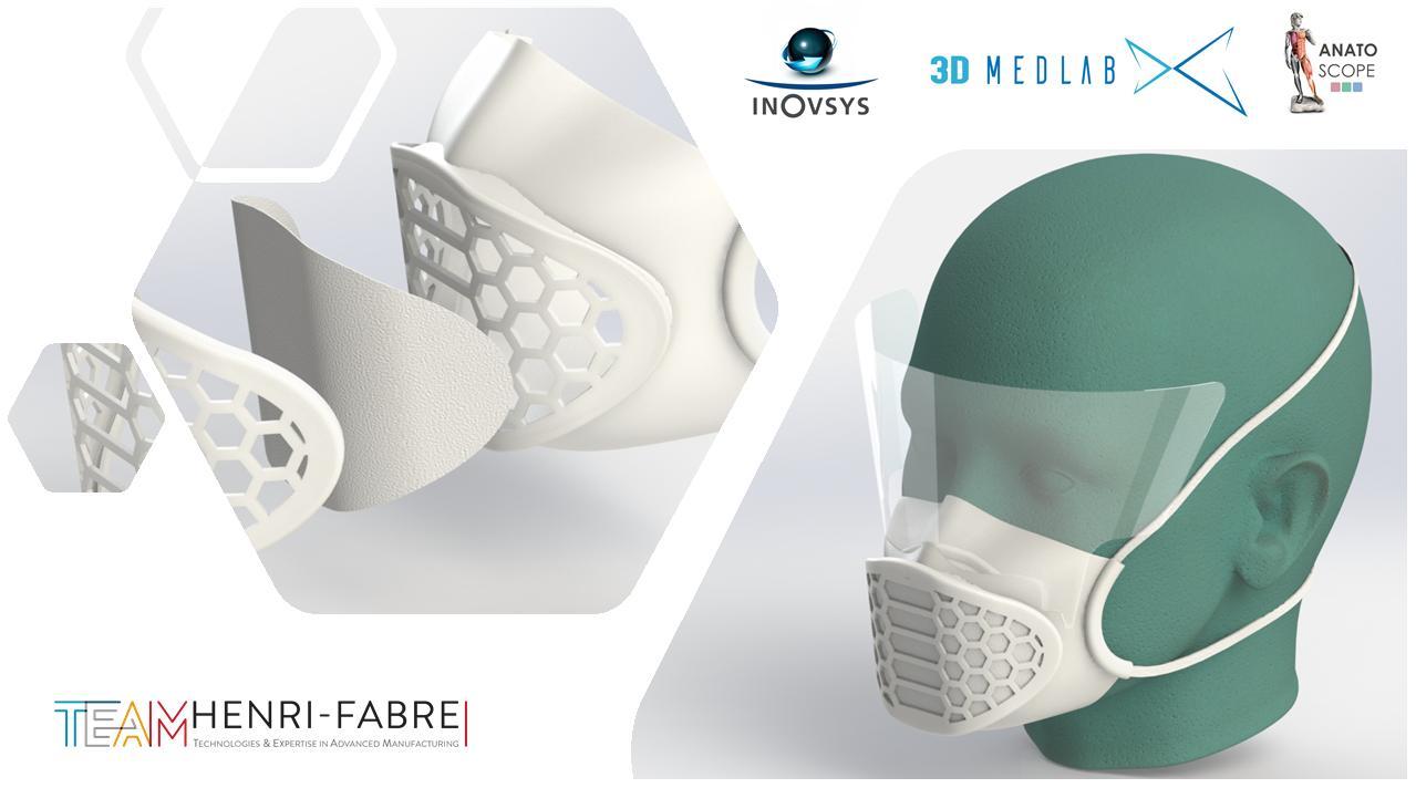 Le projet « Mimesis » dessine des masques sur-mesure