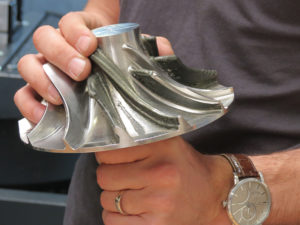 Industrie - usinage en impression 3D